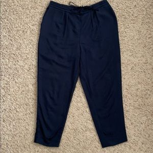 Mossimo women's dark blue pants size M